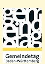 Logo des Gemeindetags: Es zeigt den Schriftzug des Gemeindetags Baden-Württemberg an.