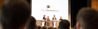 Über 200 Kommunale Digitallotsen trafen sich Ende Juli zu ihrem ersten Vernetzungsevent in Leinfelden-Echterdingen.