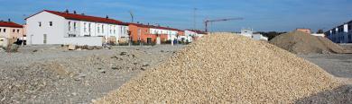 Baugebiet in einer Gemeinde